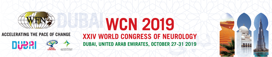 XXIV World Congress of Neurology, Dubai 2019